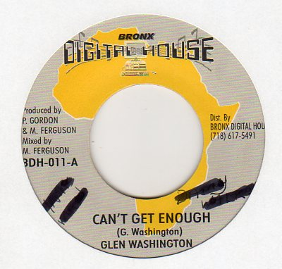 Glen Washington - Can't Get Enough
