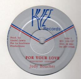 Judy Boucher - For Your Love