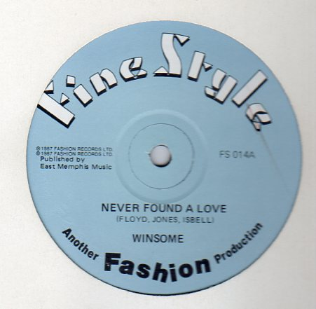 up down records winsome never found a love