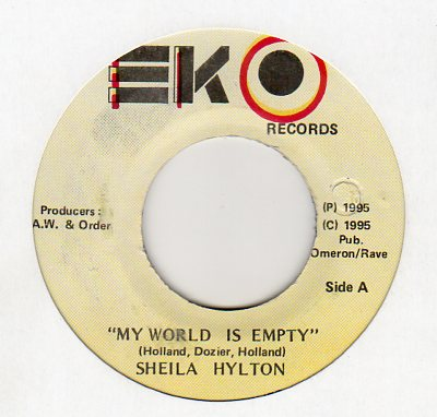 Sheila Hylton - My World Is Empty