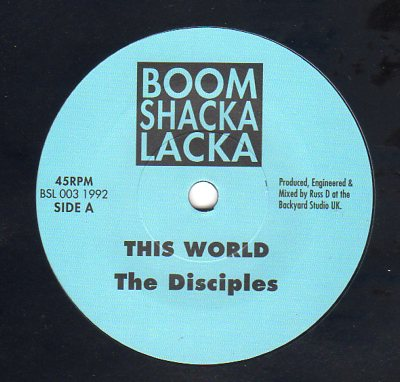 The Disciples - This World