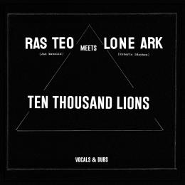 (2LP) Ras Teo Meets Lone Ark - Ten Thousand Lions