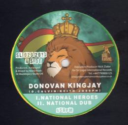 Donovan Kingjay - National Heroes