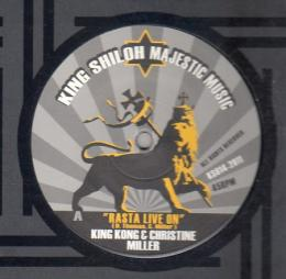 King Kong & Christine Miller - Rasta Live On