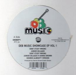 DEB Music Showcase EP Vol 1 - Junior Delgado..