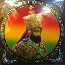 Right Works Metal Art Sticker - Jah Rastafar-I