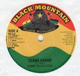Bobbo Black Star - Clean Hands