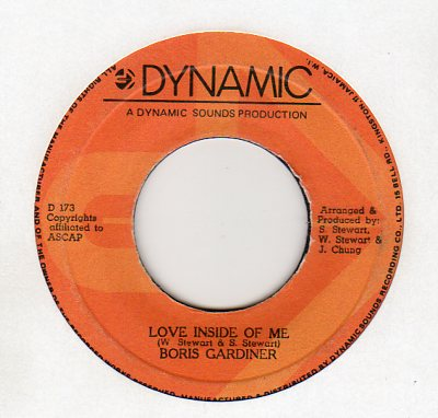 Boris Gardiner - Love Inside Of Me
