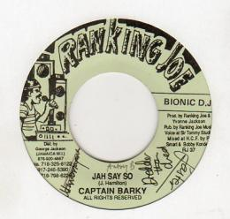 Captain Barky - Jah Say So