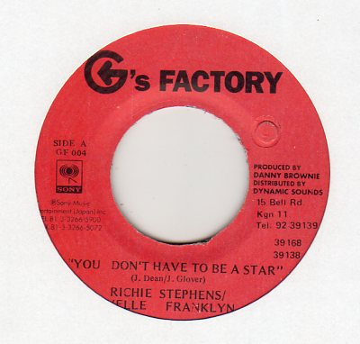 R Stephens & C Franklyn - You Don't Have To Be...