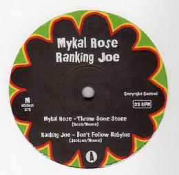Mykal Rose - Throw Some Stone
