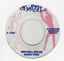 Barry York - Who Will She Be