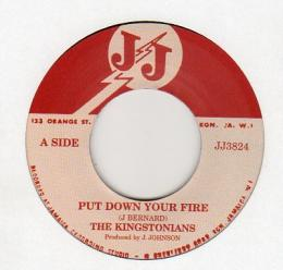The Kingstonians - Put Down Your Fire