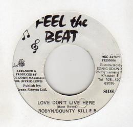 Robyn & Bounty Killer - Love Don't Like Here