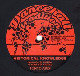 Tonto Addi - Historical Knowledge