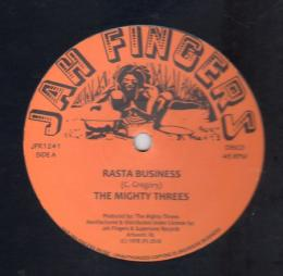 The Mighty Threes - Rasta Business