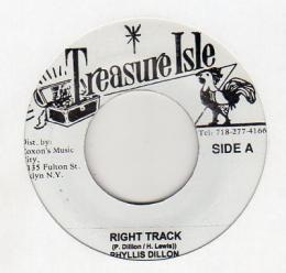 Phyllis Dillon - Right Track