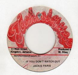 Jackie Paris - If You Don't Watch Out
