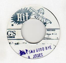 Barbara Jones - I Can't Say Good Bye
