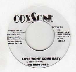 The Heptones - Love Won't Come Easy