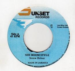 Screw Driver - She Boom Style