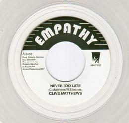 Clive Matthews - Never Too Late